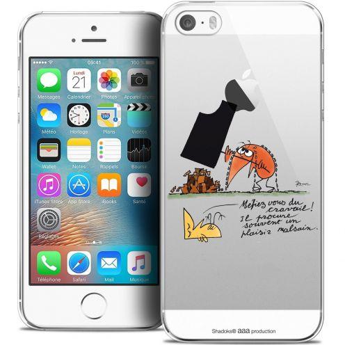 Coque iPhone 5/5s/SE Extra Fine Les Shadoks® - Le Travail