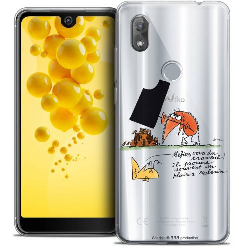 """Coque Gel Wiko View 2 (6.0"""") Extra Fine Les Shadoks® - Le Travail"""