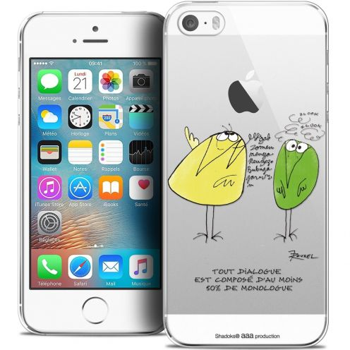 Coque iPhone 5/5s/SE Extra Fine Les Shadoks® - Le Dialogue