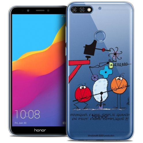 "Coque Gel Honor 7C (5.99"") Extra Fine Les Shadoks® - Pourquoi faire Simple"