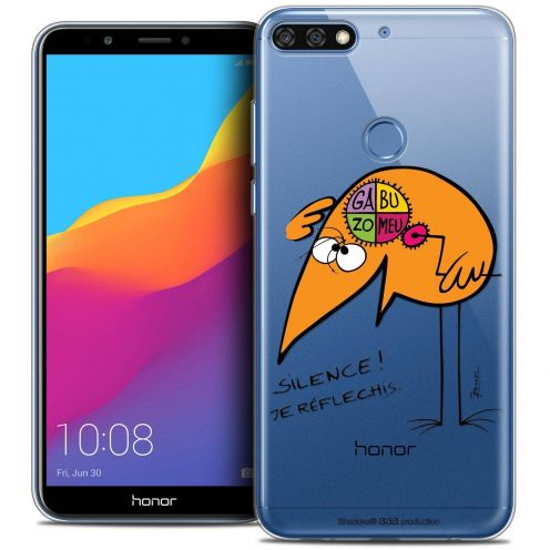 """Coque Gel Honor 7C (5.99"""") Extra Fine Les Shadoks® - Silence !"""