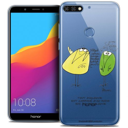 "Coque Gel Honor 7C (5.99"") Extra Fine Les Shadoks® - Le Dialogue"