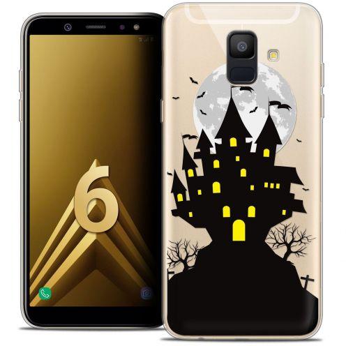 """Coque Crystal Gel Samsung Galaxy A6 2018 (5.45"""") Extra Fine Halloween - Castle Scream"""