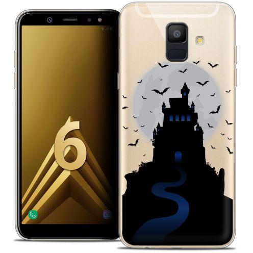 """Coque Crystal Gel Samsung Galaxy A6 2018 (5.45"""") Extra Fine Halloween - Castle Nightmare"""