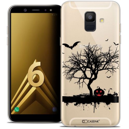 "Coque Crystal Gel Samsung Galaxy A6 2018 (5.45"") Extra Fine Halloween - Devil's Tree"