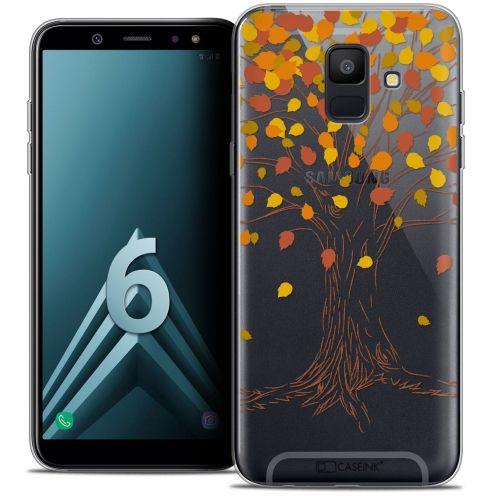 """Coque Crystal Gel Samsung Galaxy A6 2018 (5.45"""") Extra Fine Autumn 16 - Tree"""