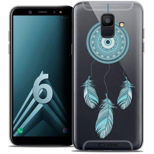 """Coque Crystal Gel Samsung Galaxy A6 2018 (5.45"""") Extra Fine Dreamy - Attrape Rêves Blue"""