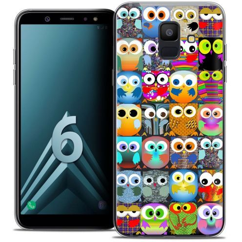 "Coque Crystal Gel Samsung Galaxy A6 2018 (5.45"") Extra Fine Claude - Hibous"