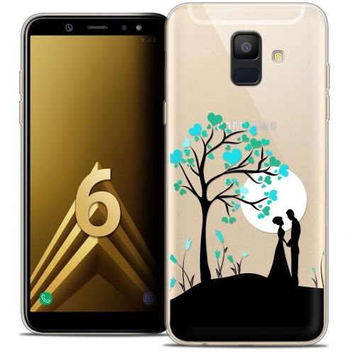 "Coque Crystal Gel Samsung Galaxy A6 2018 (5.45"") Extra Fine Love - Sous l'arbre"