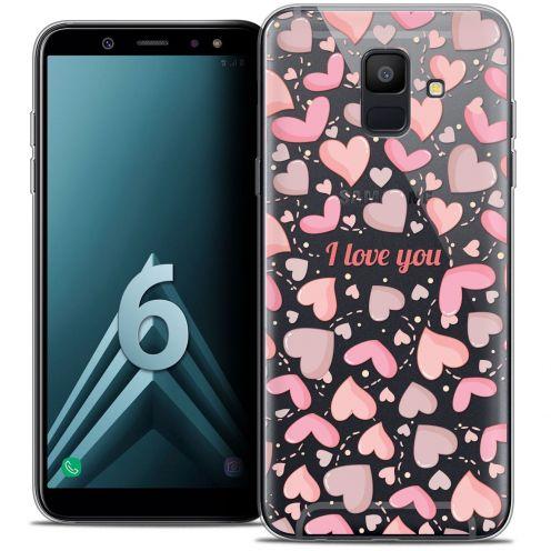 "Coque Crystal Gel Samsung Galaxy A6 2018 (5.45"") Extra Fine Love - I Love You"
