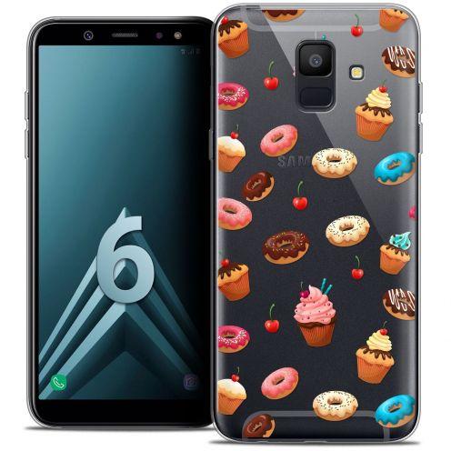 "Coque Crystal Gel Samsung Galaxy A6 2018 (5.45"") Extra Fine Foodie - Donuts"