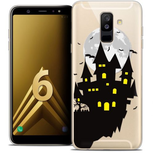 "Coque Crystal Gel Samsung Galaxy A6 PLUS 2018 (6"") Extra Fine Halloween - Castle Dream"