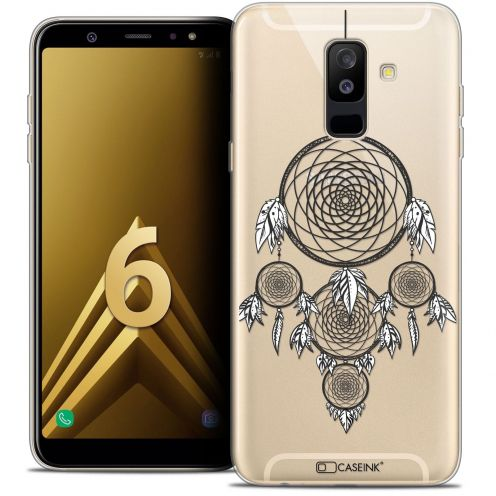 "Coque Crystal Gel Samsung Galaxy A6 PLUS 2018 (6"") Extra Fine Dreamy - Attrape Rêves NB"