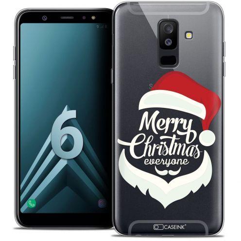 """Coque Crystal Gel Samsung Galaxy A6 PLUS 2018 (6"""") Extra Fine Noël 2017 - Merry Everyone"""