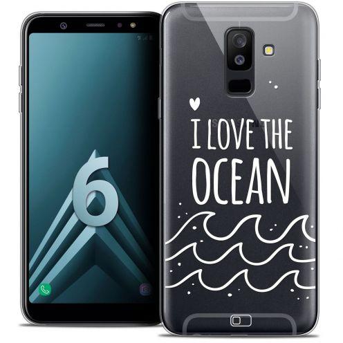 """Coque Crystal Gel Samsung Galaxy A6 PLUS 2018 (6"""") Extra Fine Summer - I Love Ocean"""