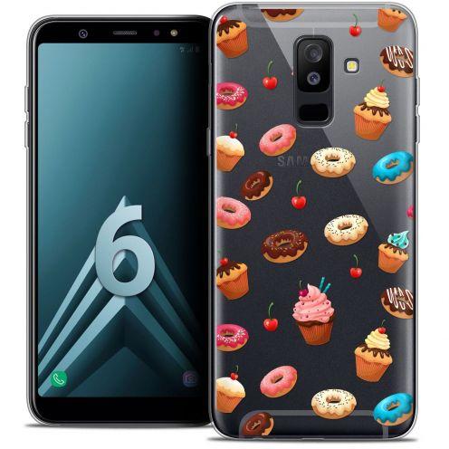 "Coque Crystal Gel Samsung Galaxy A6 PLUS 2018 (6"") Extra Fine Foodie - Donuts"