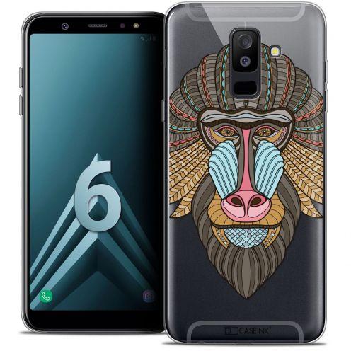 "Coque Crystal Gel Samsung Galaxy A6 PLUS 2018 (6"") Extra Fine Summer - Babouin"