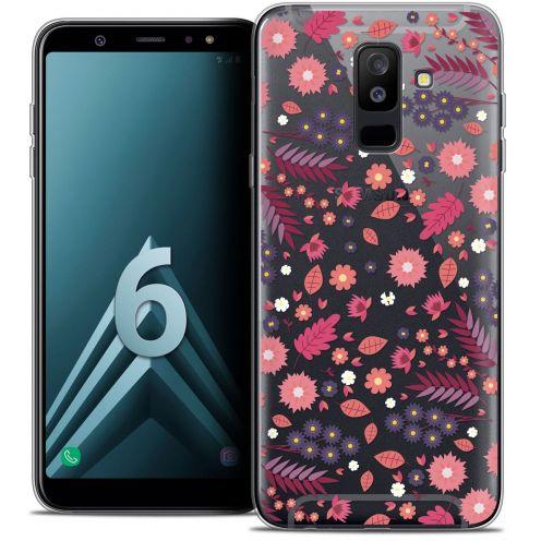 "Coque Crystal Gel Samsung Galaxy A6 PLUS 2018 (6"") Extra Fine Spring - Printemps"