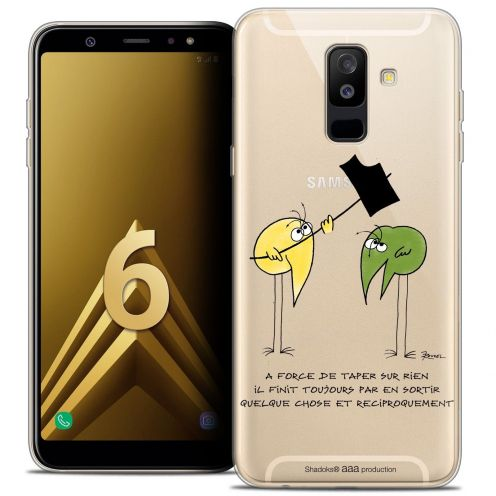 "Coque Gel Samsung Galaxy A6 PLUS 2018 (6"") Extra Fine Les Shadoks® - A Force"