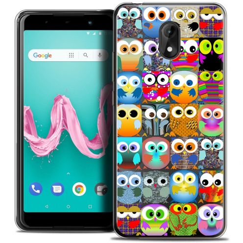 """Coque Crystal Gel Wiko Lenny 5 (5.7"""") Extra Fine Claude - Hibous"""