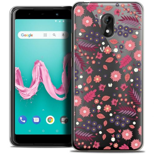 "Coque Crystal Gel Wiko Lenny 5 (5.7"") Extra Fine Spring - Printemps"