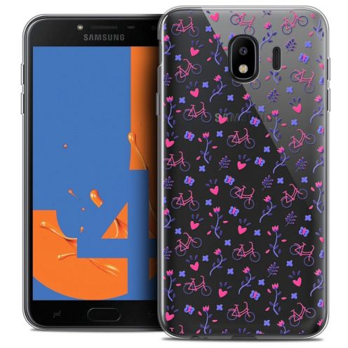"Coque Crystal Gel Samsung Galaxy J4 2018 J400 (5.5"") Extra Fine Love - Bicycle"