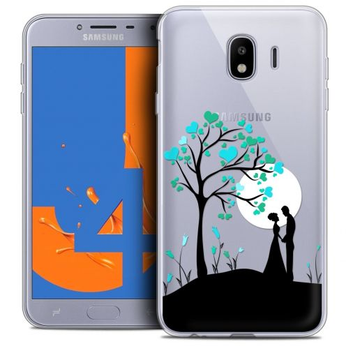 "Coque Crystal Gel Samsung Galaxy J4 2018 J400 (5.5"") Extra Fine Love - Sous l'arbre"