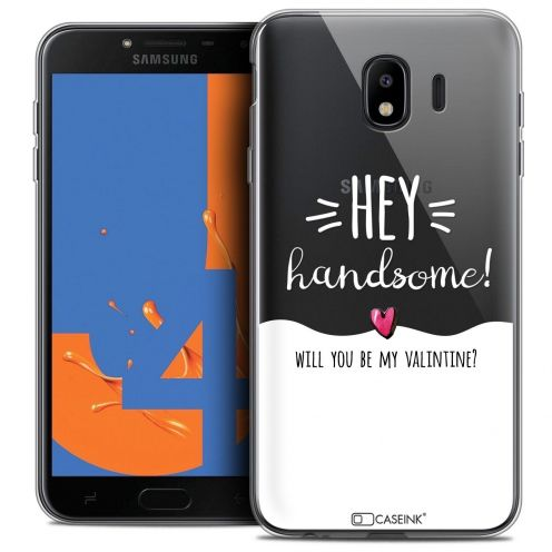 "Coque Crystal Gel Samsung Galaxy J4 2018 J400 (5.5"") Extra Fine Love - Hey Handsome !"