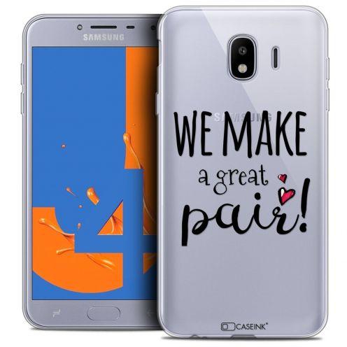 "Coque Crystal Gel Samsung Galaxy J4 2018 J400 (5.5"") Extra Fine Love - We Make Great Pair"