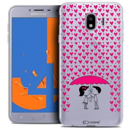 "Coque Crystal Gel Samsung Galaxy J4 2018 J400 (5.5"") Extra Fine Love - Pluie d'Amour"