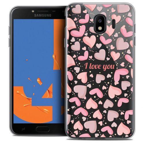 "Coque Crystal Gel Samsung Galaxy J4 2018 J400 (5.5"") Extra Fine Love - I Love You"