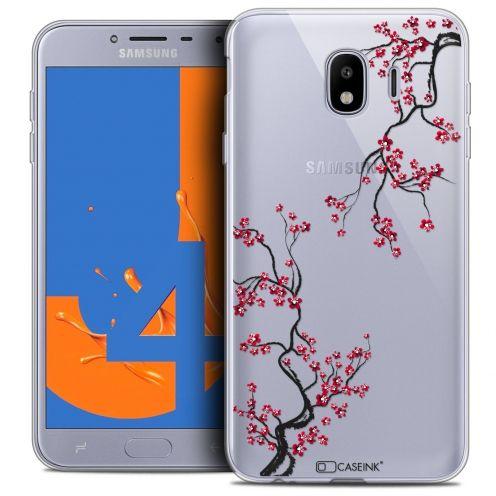 "Coque Crystal Gel Samsung Galaxy J4 2018 J400 (5.5"") Extra Fine Summer - Sakura"