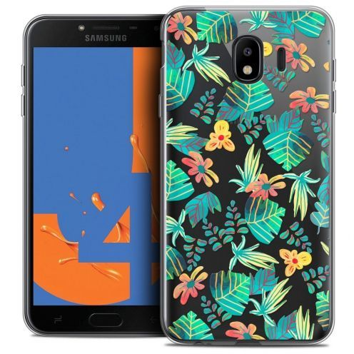 "Coque Crystal Gel Samsung Galaxy J4 2018 J400 (5.5"") Extra Fine Spring - Tropical"