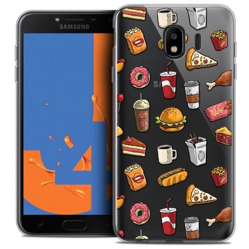 """Coque Crystal Gel Samsung Galaxy J4 2018 J400 (5.5"""") Extra Fine Foodie - Fast Food"""
