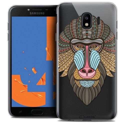 "Coque Crystal Gel Samsung Galaxy J4 2018 J400 (5.5"") Extra Fine Summer - Babouin"