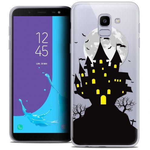 """Coque Crystal Gel Samsung Galaxy J6 2018 J600 (5.6"""") Extra Fine Halloween - Castle Scream"""