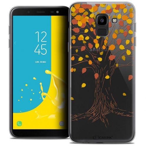 "Coque Crystal Gel Samsung Galaxy J6 2018 J600 (5.6"") Extra Fine Autumn 16 - Tree"
