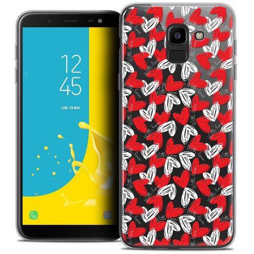 "Coque Crystal Gel Samsung Galaxy J6 2018 J600 (5.6"") Extra Fine Love - With Love"