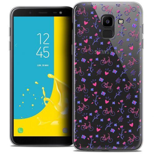 "Coque Crystal Gel Samsung Galaxy J6 2018 J600 (5.6"") Extra Fine Love - Bicycle"