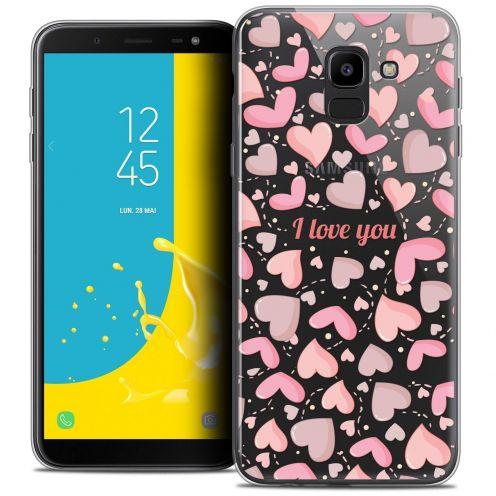 "Coque Crystal Gel Samsung Galaxy J6 2018 J600 (5.6"") Extra Fine Love - I Love You"