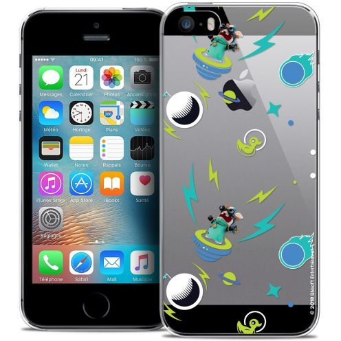 Coque iPhone 5/5s/SE Extra Fine Lapins Crétins™ - Space 1