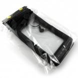 Vue complémentaire de Housse étanche + prise écouteurs iPhone 3G / iPhone 4 / 4S Noir