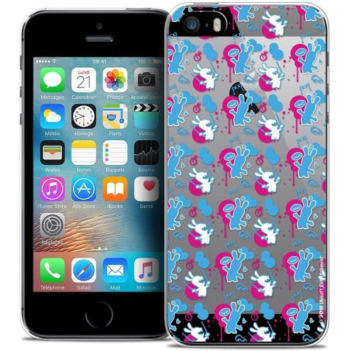 Coque iPhone 5/5s/SE Extra Fine Lapins Crétins™ - Rugby Pattern