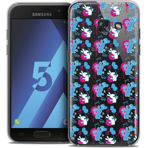 Coque Samsung Galaxy A5 2017 (A520) Extra Fine Lapins Crétins™ - Rugby Pattern