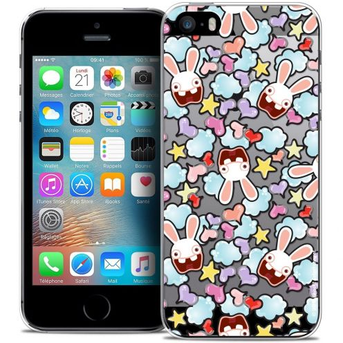 Coque iPhone 5/5s/SE Extra Fine Lapins Crétins™ - Love Pattern