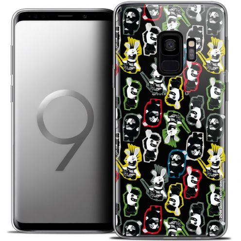 "Coque Gel Samsung Galaxy S9 (5.8"") Extra Fine Lapins Crétins™ - Punk Pattern"