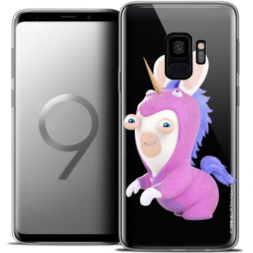 "Coque Gel Samsung Galaxy S9 (5.8"") Extra Fine Lapins Crétins™ - Licorne"