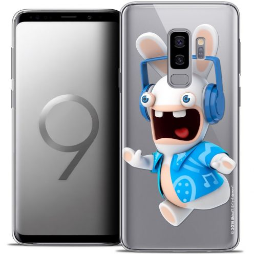 """Coque Gel Samsung Galaxy S9+ (6.2"""") Extra Fine Lapins Crétins™ - Techno Lapin"""