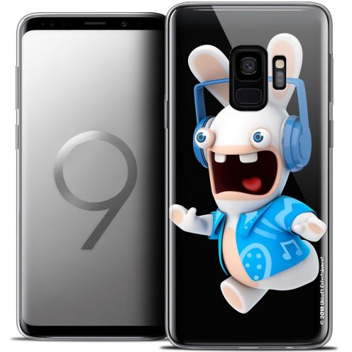 "Coque Gel Samsung Galaxy S9 (5.8"") Extra Fine Lapins Crétins™ - Techno Lapin"