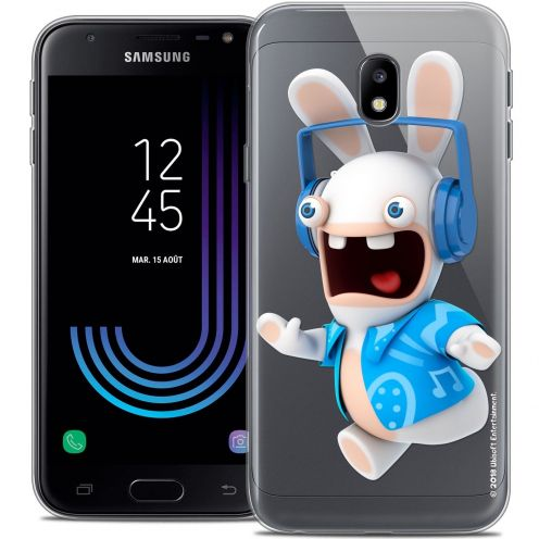 "Coque Gel Samsung Galaxy J3 2017 J320 (5"") Extra Fine Lapins Crétins™ - Techno Lapin"
